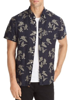 Billy Reid Tuscumbia Short Sleeve Button-Down Shirt