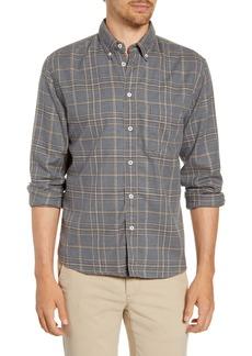 Billy Reid Tuscumbia Standard Fit Plaid Button-Down Flannel Shirt