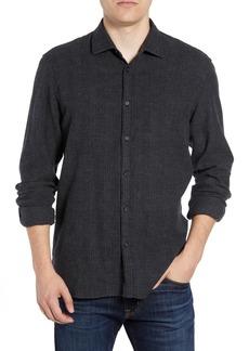 Billy Reid Walker Regular Fit Flannel Sport Shirt