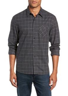 Billy Reid Walland Regular Fit Plaid Sport Shirt