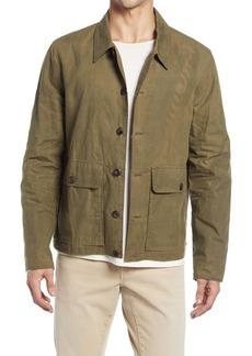 Billy Reid Waxed Cotton Flight Jacket
