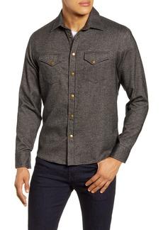 Billy Reid Western Regular Fit Cotton Shirt
