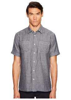 Billy Reid Clarence Short Sleeve Shirt