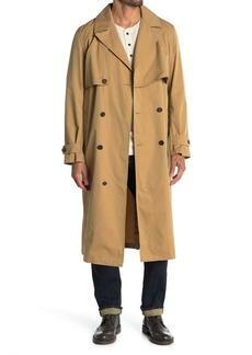 Billy Reid Double Breasted Trench Coat