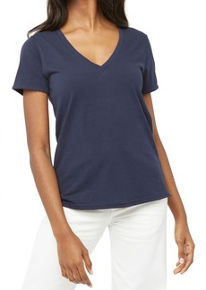 Billy Reid Fitted V-Neck Tee
