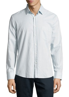 Billy Reid John T Standard-Cut Oxford Shirt