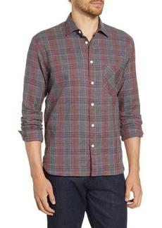 Billy Reid John T Standard Fit Plaid Sport Shirt