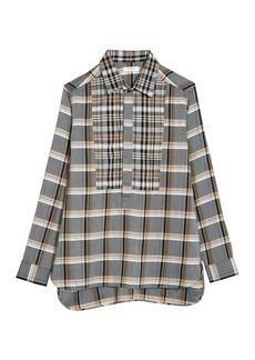 Billy Reid Paneled Popover Shirt