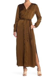 Billy Reid Paneled Robe Dress