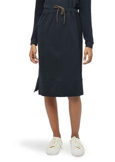 Billy Reid Paneled Terry Knit Skirt