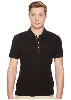 Billy Reid Short Sleeve Cashmere Polo
