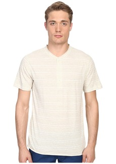 Billy Reid Short Sleeve Hunter Henley