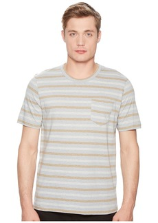 Billy Reid Short Sleeve Striped T-Shirt