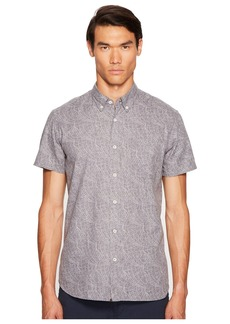 Billy Reid Short Sleeve Tuscumbia Button Down Shirt