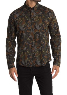 Billy Reid Taylor Camo Print Shirt