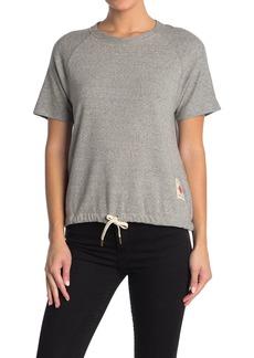 Billy Reid Terry Short Sleeve Sweatshirt