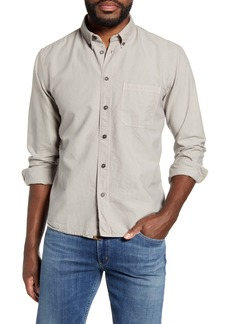 Billy Reid Tuscumbia Solid Slim Fit Oxford Shirt