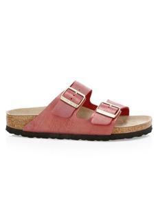 Birkenstock Arizona Glitter Leather Sandals