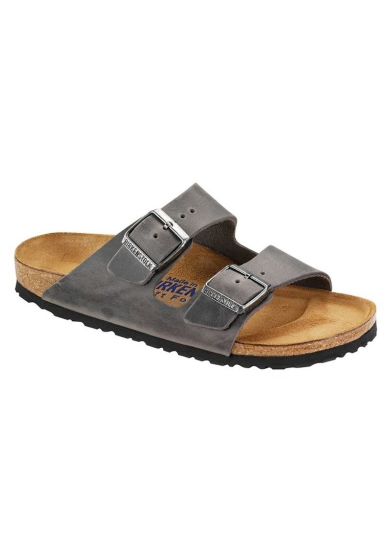 6ff52173f03 Birkenstock Birkenstock Arizona Habana Oiled Leather Sandals | Shoes
