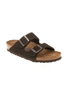 Birkenstock 'Arizona' Soft Footbed Suede Sandal (Women)