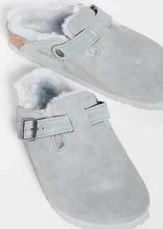 Birkenstock Boston Shearling Clogs