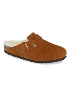 Birkenstock Boston Slip-On with Genuine Shearling Lining (Men)