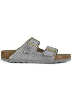 Birkenstock brushed-effect sandals