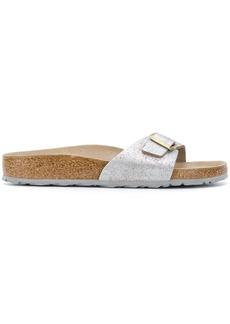 Birkenstock brushed sandals - Metallic