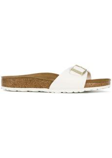 Birkenstock buckle strap sandals - White