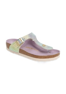 Birkenstock Gizeh Lux Birko-Flor Soft Footbed Sandal (Women)