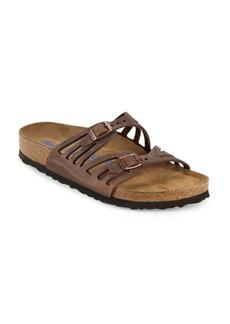 Birkenstock Granada Leather Slip-On Sandals
