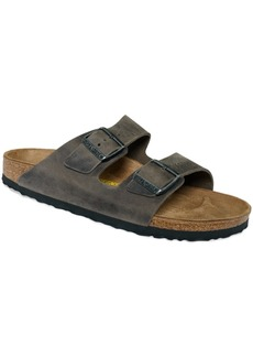 Birkenstock Men's Arizona Two Band Oiled Leather Sandals Men's Shoes