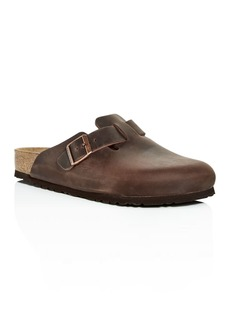 Birkenstock Men's Boston Oiled Leather Mules