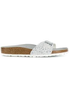Birkenstock metallic sandals - White