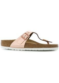 Birkenstock metallic sandals