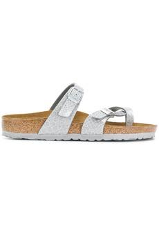 Birkenstock snake-effect sandals - Grey