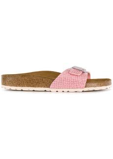 Birkenstock snake-effect sandals - Pink & Purple