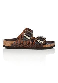 Birkenstock Women's Arizona Big Buckle Stamped Leather Sandals