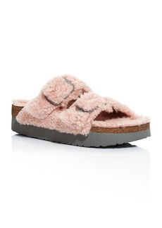 Birkenstock Women's Papillo Arizona Shearling Slide Sandals - 100% Exclusive