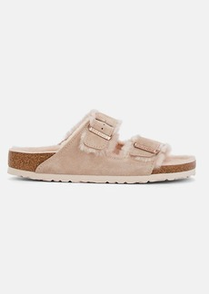 Birkenstock Women's Arizona Suede Double-Buckle Sandals