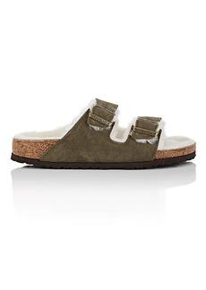 Birkenstock Women's Arizona Suede Double Buckle Sandals