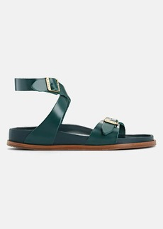 Birkenstock Women's Delphi Leather Ankle-Strap Sandals