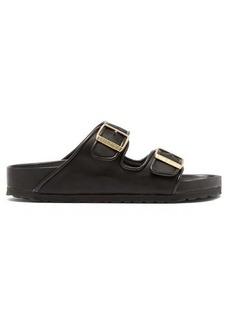 Birkenstock x Il Dolce Far Niente Arizona Fullex satin sandals