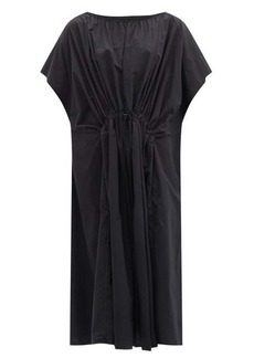 Birkenstock X Toogood The Mudlark drawstring-waist cotton dress