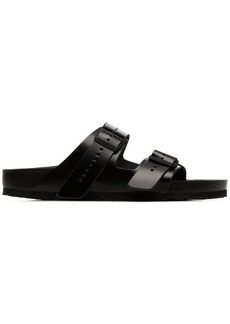 Birkenstock black Arizona leather sandals