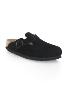 Birkenstock Boston Leather Slip On Shoes