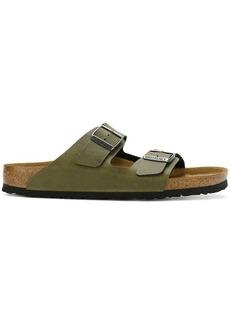 Birkenstock buckle slider sandals