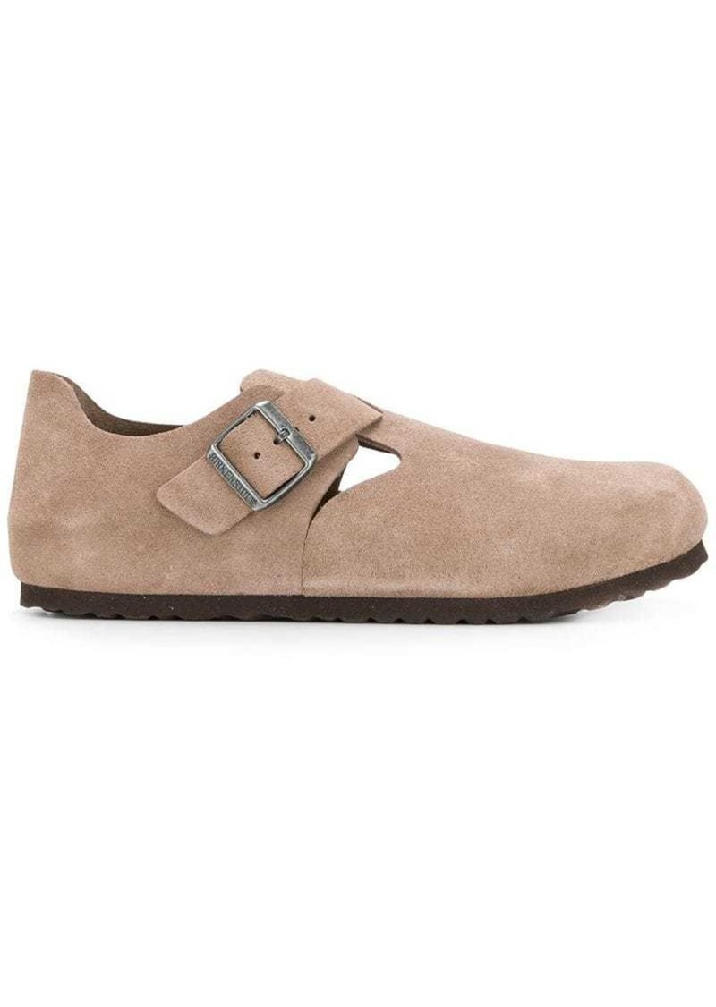 Birkenstock buckled loafers