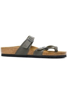 Birkenstock buckled strap sandals