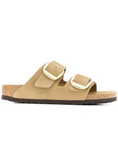 Birkenstock suede buckle sandals